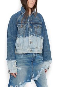 R13 double denim jacket