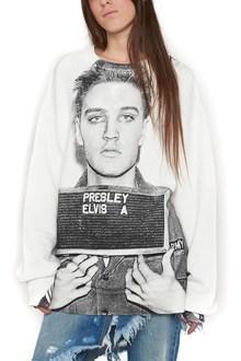 R13 'elvis mugshot' sweatshirt
