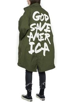 R13 'god save the america' parka