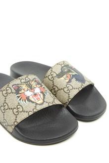 GUCCI gg & tiger slides