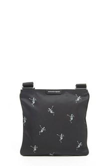 ALEXANDER MCQUEEN all over skeleton crossbody bag