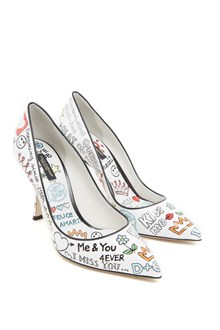 DOLCE & GABBANA graffiti pumps