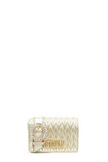 MIU MIU jewel buckle crossbody bag