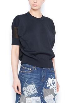 JUNYA WATANABE transparent intarsia sweater