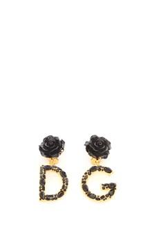 DOLCE & GABBANA logo clip earring