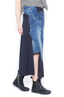 JUNYA WATANABE asymmetrical skirt