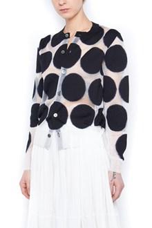 JUNYA WATANABE polka dots cardigan