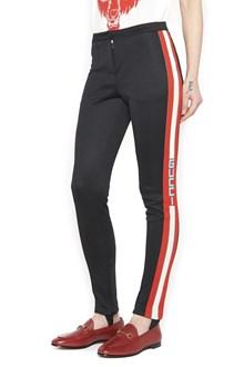 GUCCI logo web pants