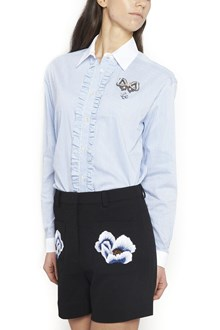 MARKUS LUPFER jewel pin shirt