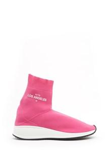JOSHUA SANDERS 'fly to los angeles' socks sneakers