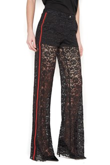 PHILIPP PLEIN lateral contrast bands pants