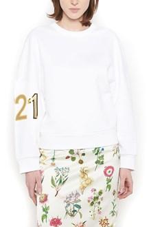 N°21 back v-neck sweatshirt