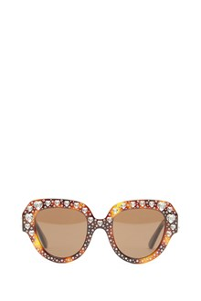 GUCCI swarowsky hearts sunglasses