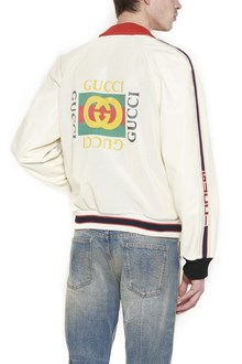 GUCCI perforated bomber jacket