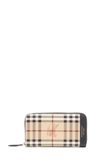 BURBERRY 'zig' wallet