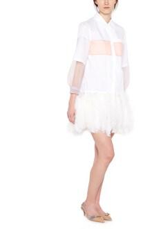 PRADA feather dress