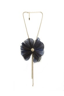 LANVIN flower necklace