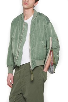 424 X ALPHA INDUSTRIES 'ma-1' bomber jacket