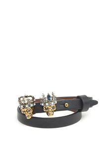 ALEXANDER MCQUEEN 'king & Queen' bracelet