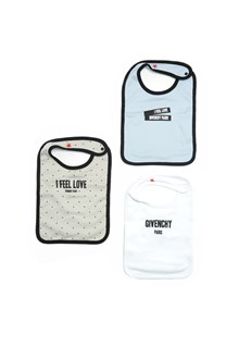 GIVENCHY three bib baby set