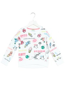 KENZO KIDS felpa logo all over