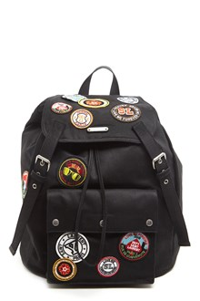 SAINT LAURENT patches backpack