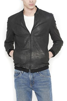 SALVATORE SANTORO vintage effect bomber jacket