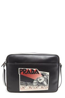 PRADA woman patch crossbody bag