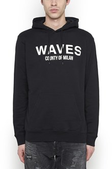 MARCELO BURLON - COUNTY OF MILAN 'double waves surf' hoodie