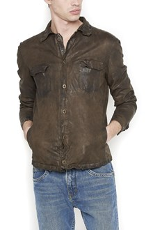 SALVATORE SANTORO leather shirt