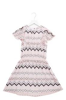 MISSONI KIDS elasticated waist dress
