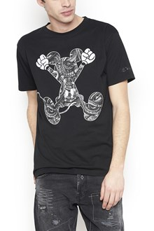 MARCELO BURLON - COUNTY OF MILAN 'mickey mouse jump' t-shirt