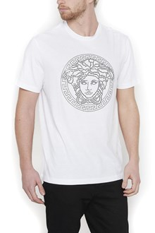 VERSACE swarowsky medusa t-shirt