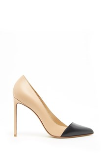 FRANCESCO RUSSO bicolor pumps