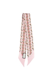 GUCCI roses printed twilly