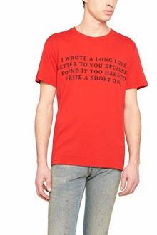 GUCCI 'love letter' t-shirt