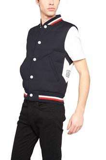 MONCLER GAMME BLEU multicolor bands vest