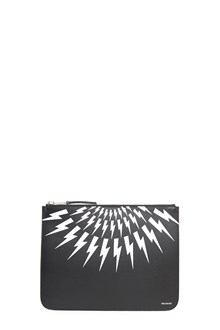 NEIL BARRETT 'thunder' clutch