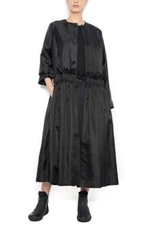 NOIR KEI NINOMIYA curled waist trench coat