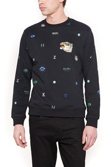 KENZO all over printed sweatshirt