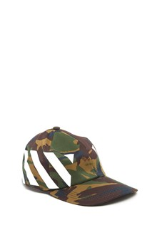 OFF-WHITE 'diag camou' cap