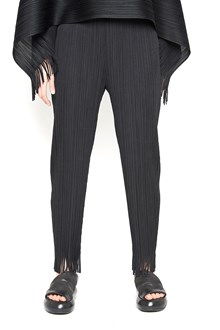 PLEATS PLEASE ISSEY MIYAKE 'earthen fringe' pants