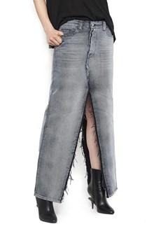 UNRAVEL split skirt