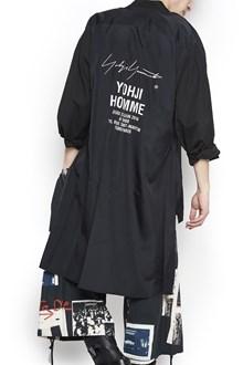 YOHJI YAMAMOTO logo long shirt