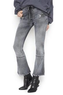 UNRAVEL laces jeans