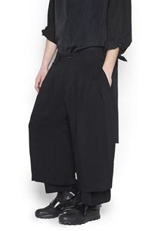 YOHJI YAMAMOTO double layering pants
