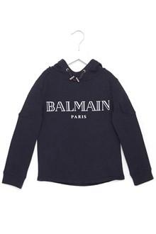 BALMAIN KIDS logo hoodie