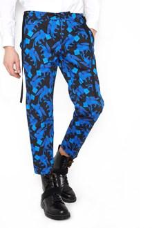 CHRISTIAN PELLIZZARI printed venice lion pants