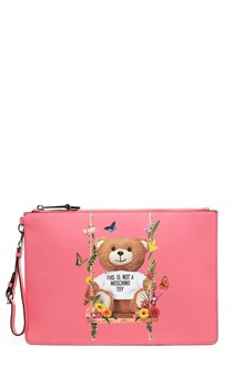 MOSCHINO 'teddy' clutch