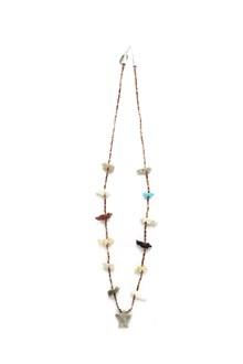 JESSIE WESTERN 'White eagle' necklace
